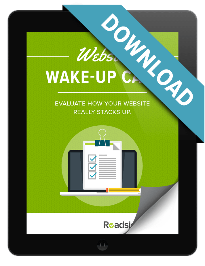 Preview image of Website Wake-Up Call ebook download.